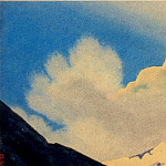 The Himalayas # 150 The Golden Peak and the Cloud, Roerich N.K. (Part 4)