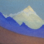 The Himalayas # 101 The dying peaks, Roerich N.K. (Part 4)