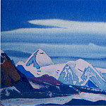 Roerich N.K. (Part 4) - Pass # 151 (Icy rock illuminated pink light)