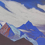 The Himalayas # 175 Snowy peaks, Roerich N.K. (Part 4)