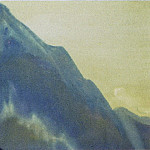 The Himalayas # 79 The Lonely Cliff, Roerich N.K. (Part 4)