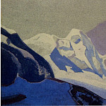 The Himalayas # 196 Snow Country, Roerich N.K. (Part 4)