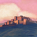 Tibetan castle # 121, Roerich N.K. (Part 4)