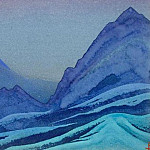 The Himalayas # 164 Night in the Mountains, Roerich N.K. (Part 4)