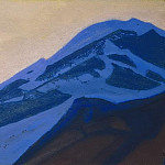 Roerich N.K. (Part 2) - Kuluta # 20 Kuluta (Blue mountain at sunset)