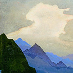 Snowy cloud # 222, Roerich N.K. (Part 4)