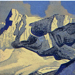 The Himalayas # 128 , Roerich N.K. (Part 4)