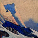 Roerich N.K. (Part 4) - Kuluta # 195 (Lilac sunset. Rocks)