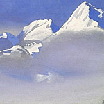 Himalayas # 70 Soaring mountain, Roerich N.K. (Part 4)