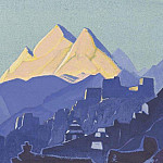 Mountain abode, Roerich N.K. (Part 4)