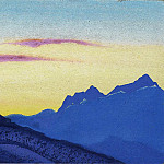 The Himalayas # 176, Roerich N.K. (Part 4)