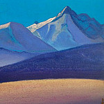 The Himalayas # 205 Before the sunset, Roerich N.K. (Part 4)