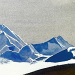 Roerich N.K. (Part 4) - Everest # 21 Everest (vertex in the evening light)