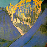 The Himalayas # 183 The Hulking Peaks, Roerich N.K. (Part 4)