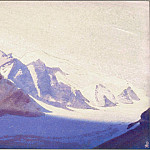 Roerich N.K. (Part 4) - Thang # 132 Tanggula Pass (Clean mountain snows)
