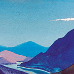 Roerich N.K. (Part 4) - The Himalayas # 179 Lights on the river