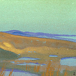 Swamp Tsaidam # 160, Roerich N.K. (Part 4)