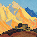 Sacred Himalayas # 118, Roerich N.K. (Part 4)