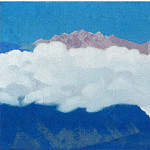 Cloud on the summits. Himalaya, Roerich N.K. (Part 4)