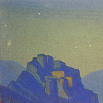 Roerich N.K. (Part 4) - Tibet # 20 Tibet (starry night in the mountains)