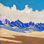 Karakorum. Path to Turkestan # 134, Roerich N.K. (Part 4)