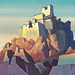 Roerich N.K. (Part 4) - Citadel in the Himalayas # 16 (Castle in Ladakh)