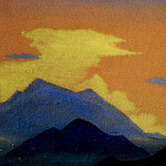 Roerich N.K. (Part 4) - Evening # 123 Evening (mountain range at sunset)