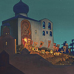 Now Heavenly Powers invisibly serve with us # 14 Now the powers of heaven with us invisibly serve , Roerich N.K. (Part 4)
