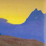 Roerich N.K. (Part 1) - Evening # 69 evening (at Stupas blue mountains)