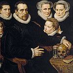 Part 1 Prado museum - Key, Adriaen Thomasz -- Retrato de familia