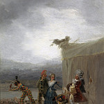 Los cómicos ambulantes, Francisco Jose De Goya y Lucientes