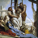 Part 1 Prado museum - Tiepolo, Giandomenico -- El Descendimiento