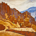 Roerich N.K. (Part 3) - Strongholds walls (Convent Bon-but)