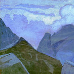 Vertices in clouds, Roerich N.K. (Part 3)