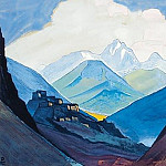 Chang -la. Album sheet, Roerich N.K. (Part 3)