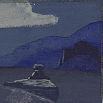 Mountain landscape , Roerich N.K. (Part 3)