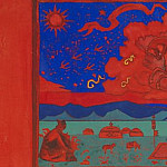 Roerich N.K. (Part 3) - Coming (sketch for