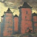 Roerich N.K. (Part 3) - Chinese Tower in the Central Gobi. Mongolia