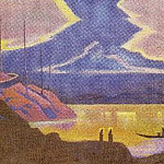Holy Guests , Roerich N.K. (Part 3)