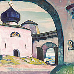 Pskov # 15 , Roerich N.K. (Part 3)