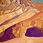 Rocks Buddhist caves, Roerich N.K. (Part 3)