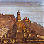 Big stupa in Chez, Roerich N.K. (Part 3)