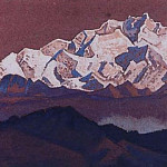 Rocky top. Himalaya # 232, Roerich N.K. (Part 3)