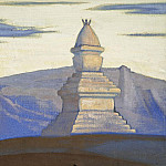 Stupa near Sharugona, Roerich N.K. (Part 3)