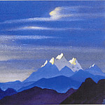 Snow tops , Roerich N.K. (Part 3)