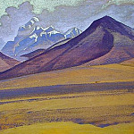 Ridge Karakorum , Roerich N.K. (Part 3)