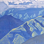 Clear night # 64, Roerich N.K. (Part 3)
