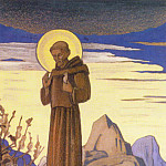 Roerich N.K. (Part 3) - St. Francis. Sketch # 21