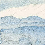 Outline of the mountain scenery , Roerich N.K. (Part 3)