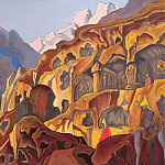 Holy Caves # 19, Roerich N.K. (Part 3)